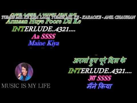 Tumse Milke Aisa Laga Tumse Milke Karaoke With Scrolling Lyrics Eng. & हिंदी