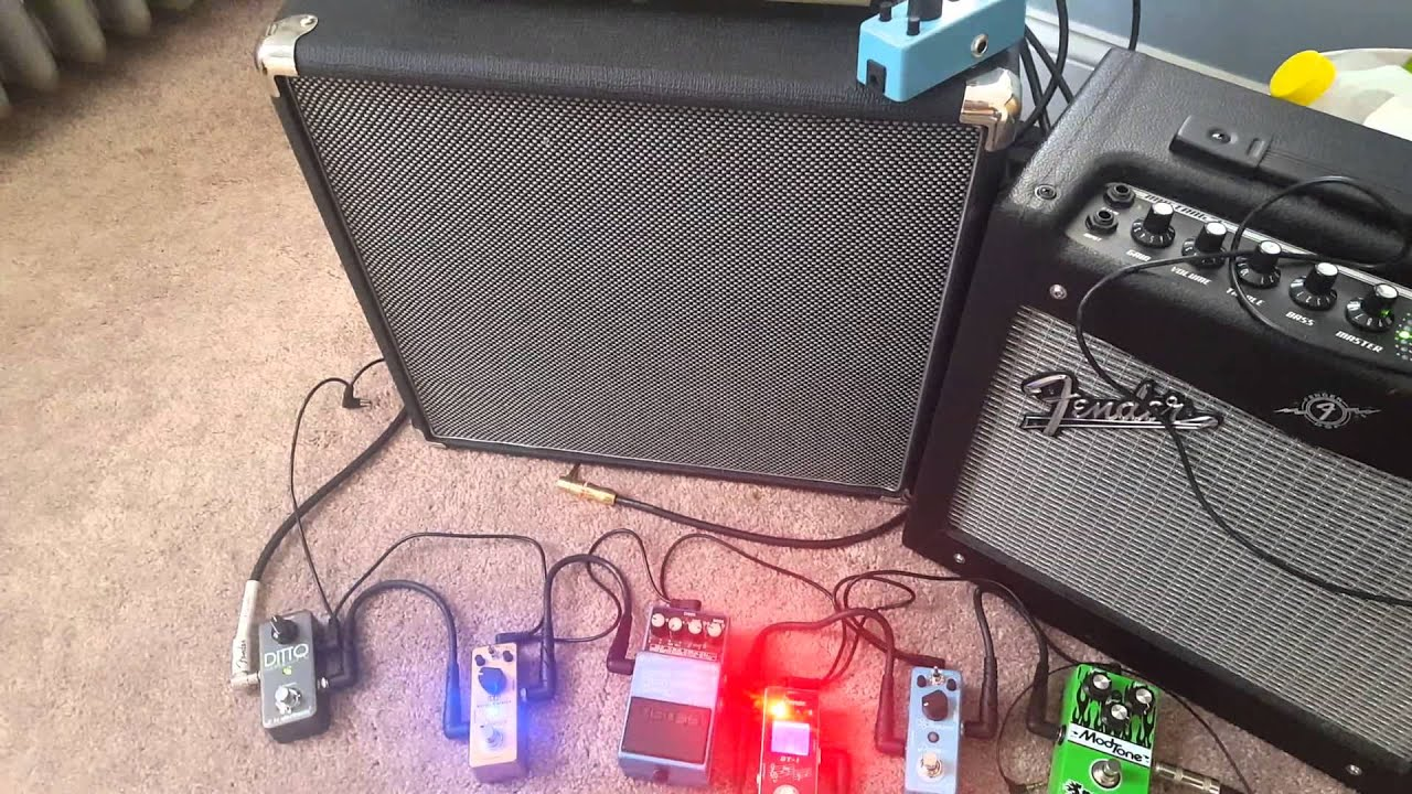 Fender Strat with GFS Hot Liverpool Filtertrons - YouTube