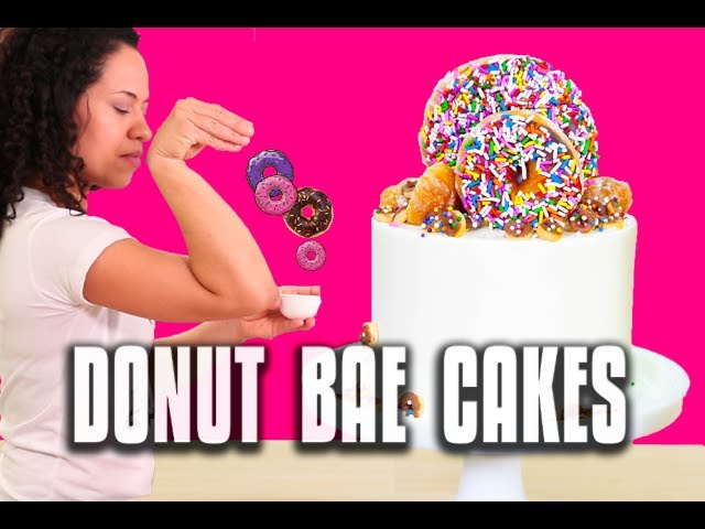 how-to-be-the-salt-bae-of-donuts-make-mega-donut-cakes-for-national-donut-day
