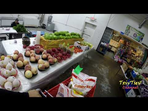 Shopping at Milwaukee's Asian Market Phongsavan