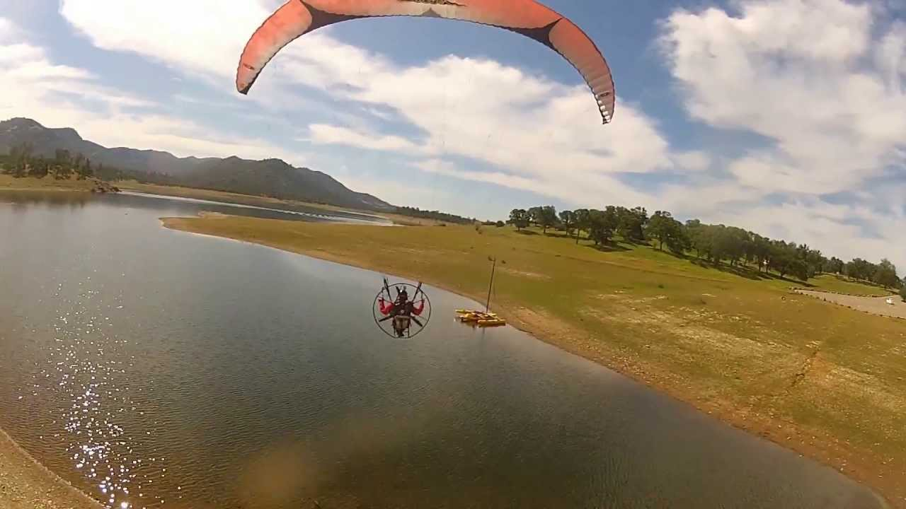PARAMOTOR Cross-Country in The California Valley! Amazing Flight!