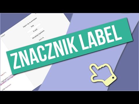 Znacznik Label - Semantyczny HTML By Comandeer