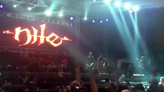 Nile - Serpent Headed Mask (Live at Hammersonic Festival 2012)
