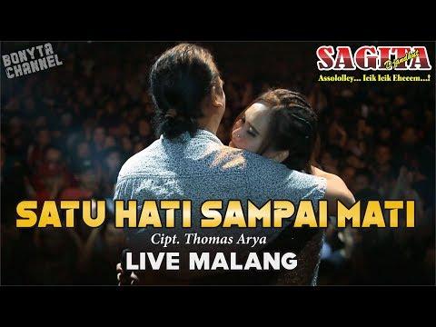 SATU HATI SAMPAI MATI -  SAGITA Live MALANG (Versi JANDHUT)