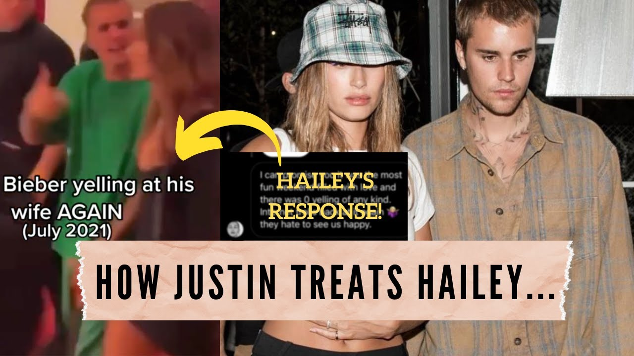 Let's talk about Justin Bieber yelling at Hailey Bieber and being mean to her...