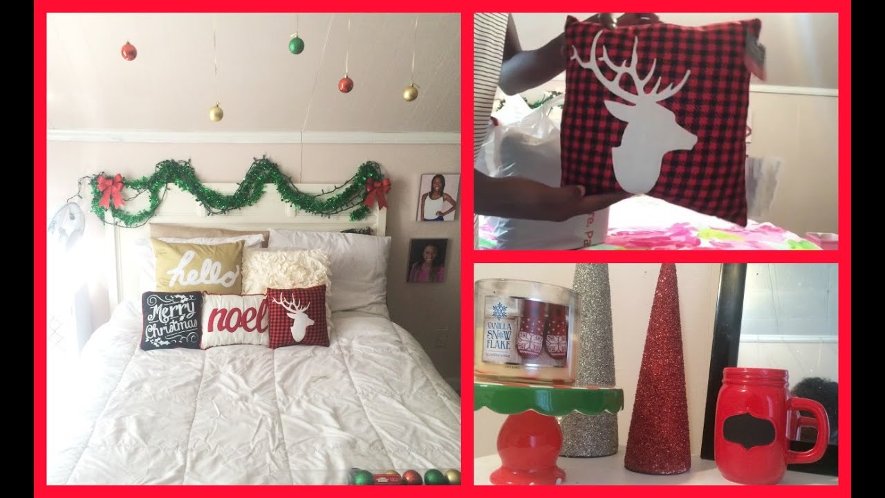 Decorating My Room For Christmas 2017