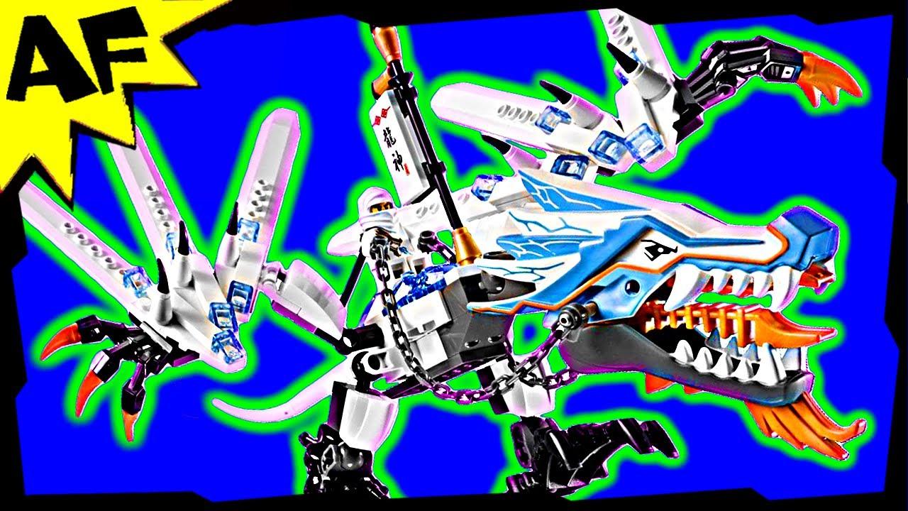 ICE DRAGON Attack 2260 Lego Ninjago Stop Motion Set Review ...