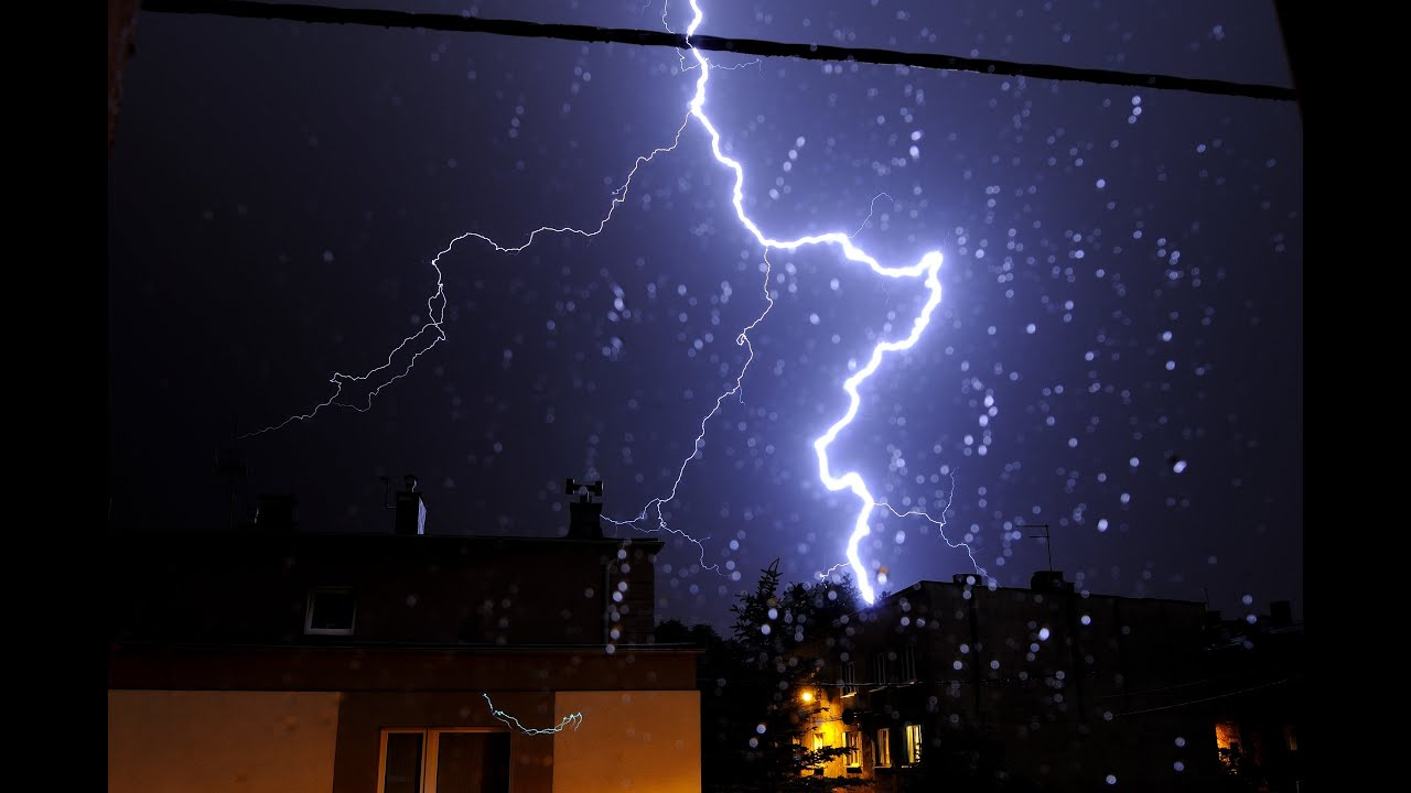 Thunderstorm Sounds 10 hours Heavy Rainfall for Deep ...