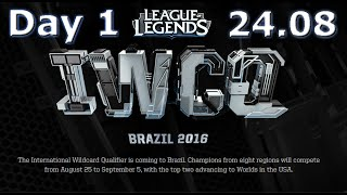 S6 Worlds 2016 International Wildcard Qualifiers Day 1 | IWCQ 2016 Brazil D1