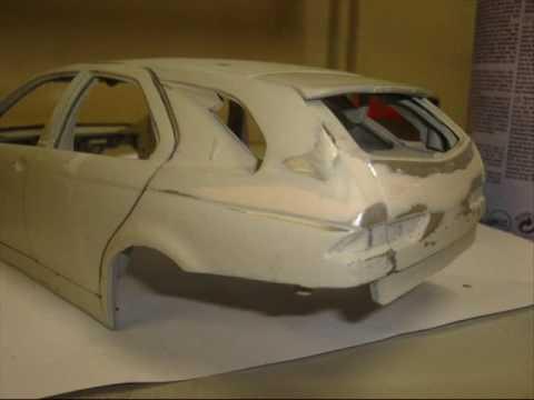 modellauto tuning alfaromeo gta kombi 1 18 youtube. Black Bedroom Furniture Sets. Home Design Ideas