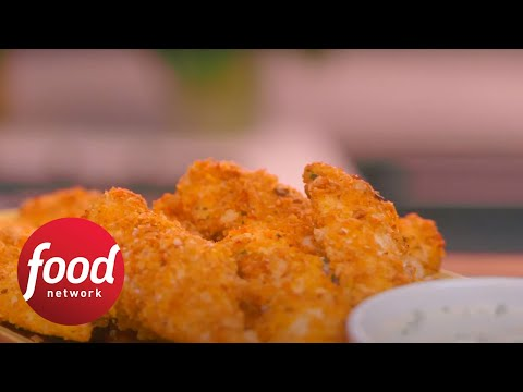 Homemade Freezer Chicken Fingers Food Network Youtube