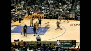 NBA finals 2001 76-ers-LAL game1 (русский комментарий)
