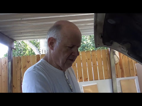 dr jinkinstein fixing a radiator with a vacuum cleaner and epoxy