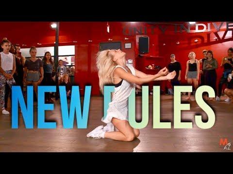 DUA LIPA - NEW RULES | Choreography by...
