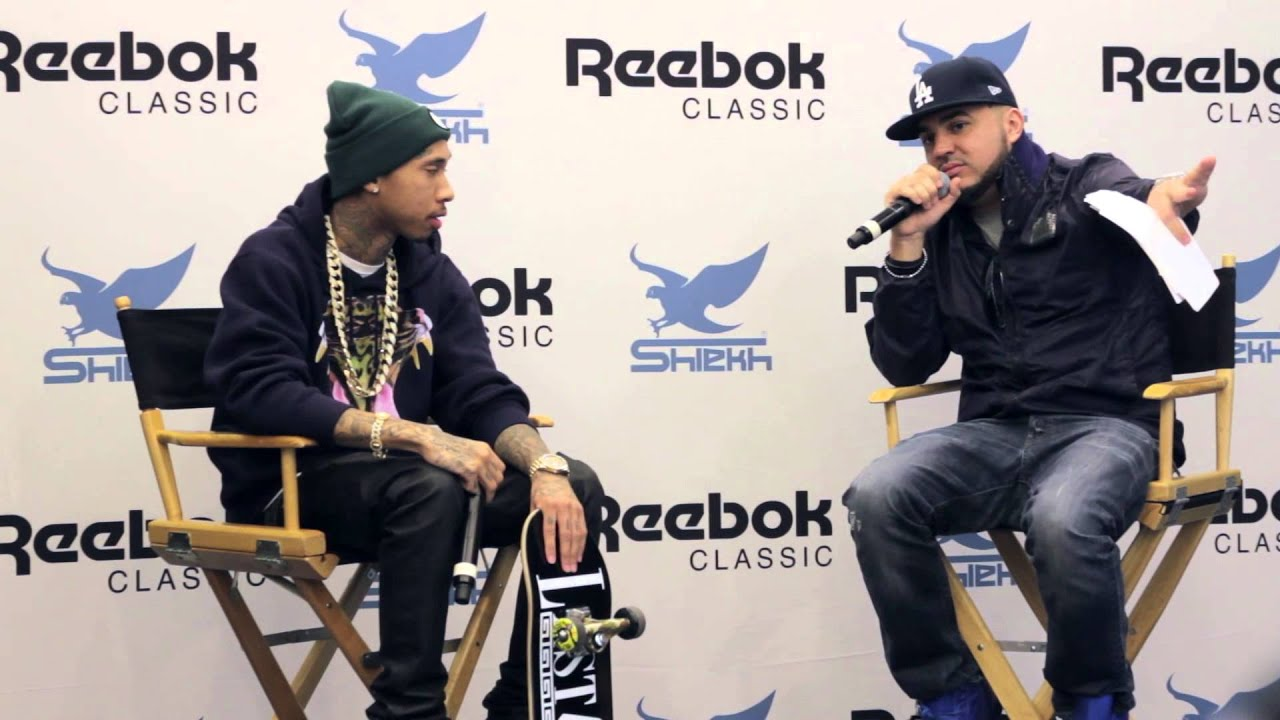 Tyga s T-Raww Shoe Release Party at Shiekh Shoes + Interview - YouTube 5e48829e9a