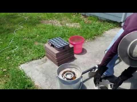 Aluminum Smelting In The Crucible So Hot Hot Hot Hot 2018