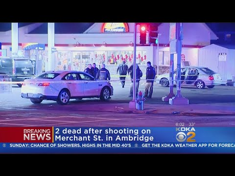 2 Killed In Shooting At Ambridge Gas Station