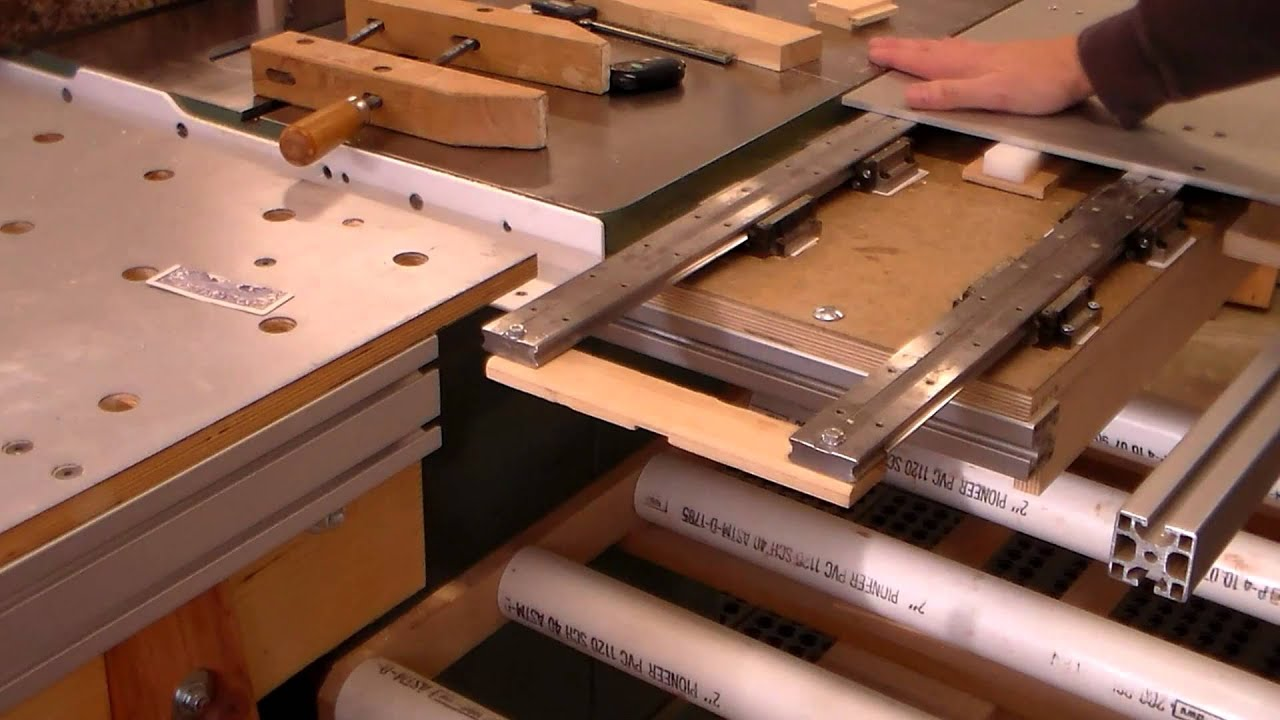 Perfect Sliding Table   YouTube