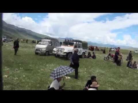 Tibetan horse racing