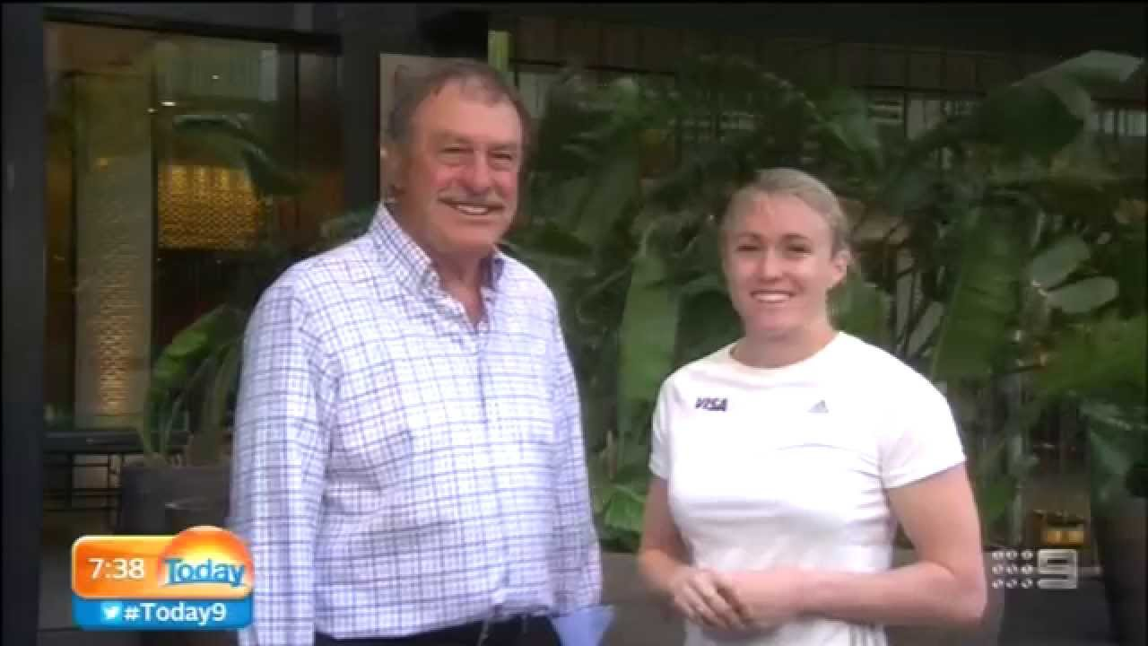 Today Show interview with John New be & Sally Pearson