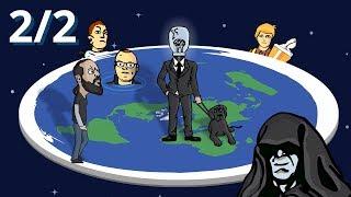 Versuchsauswertung Teil 2/2 – Globus experimentell bestätigt! – Flat earth debunked
