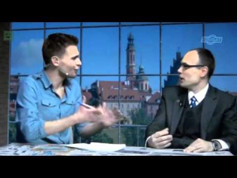 In EduSat TV on Polish-British Partnership Programme at PUNO/London (Polish University in Exile)