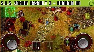 SAS: Zombie Assault 3 - Gameplay Android HD / HQ Audio (Android Games HD)