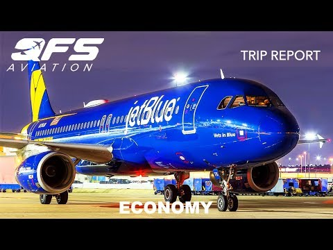 TRIP REPORT | JetBlue Airways - A320 - Albuquerque (ABQ) to New York (JFK) | Economy