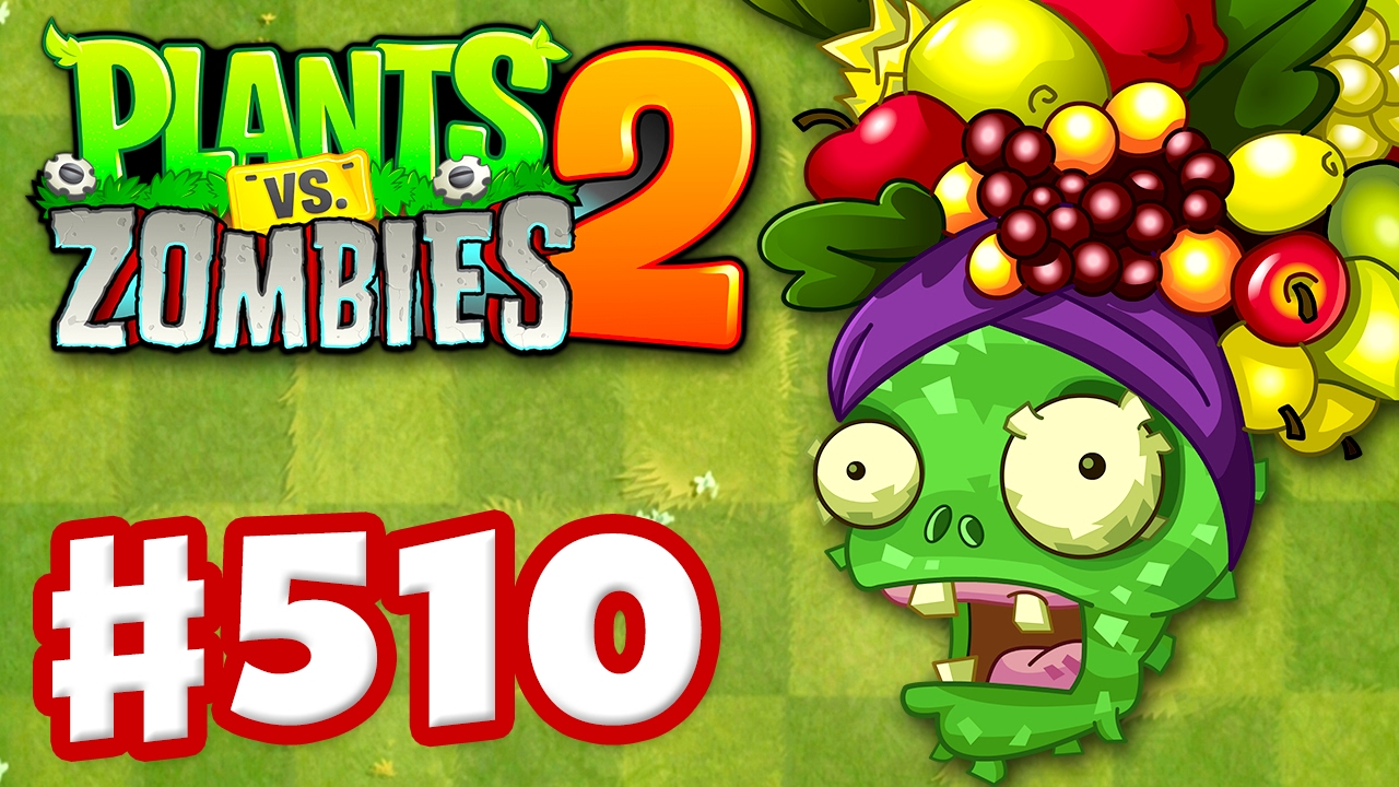 Fruit vs zombies - Plants Vs Zombies 2 Gameplay Walkthrough Part 510 Fruit Pinatas Ios