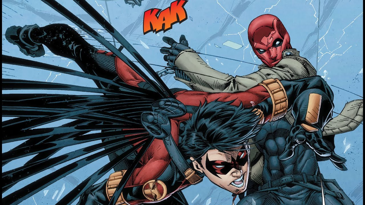 Teen Titans #16 Review: Two Robins, Raven, and the Joker ...