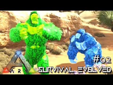 MODDED ARK: SCORCHED EARTH - ELEMENTAL MEGAPITHECUS TAME !!! E02 (ARK SURVIVAL EVOLVED GAMEPLAY)