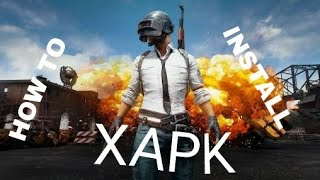 Gambar cover HOW TO INSTALL XAPK (PUBG)