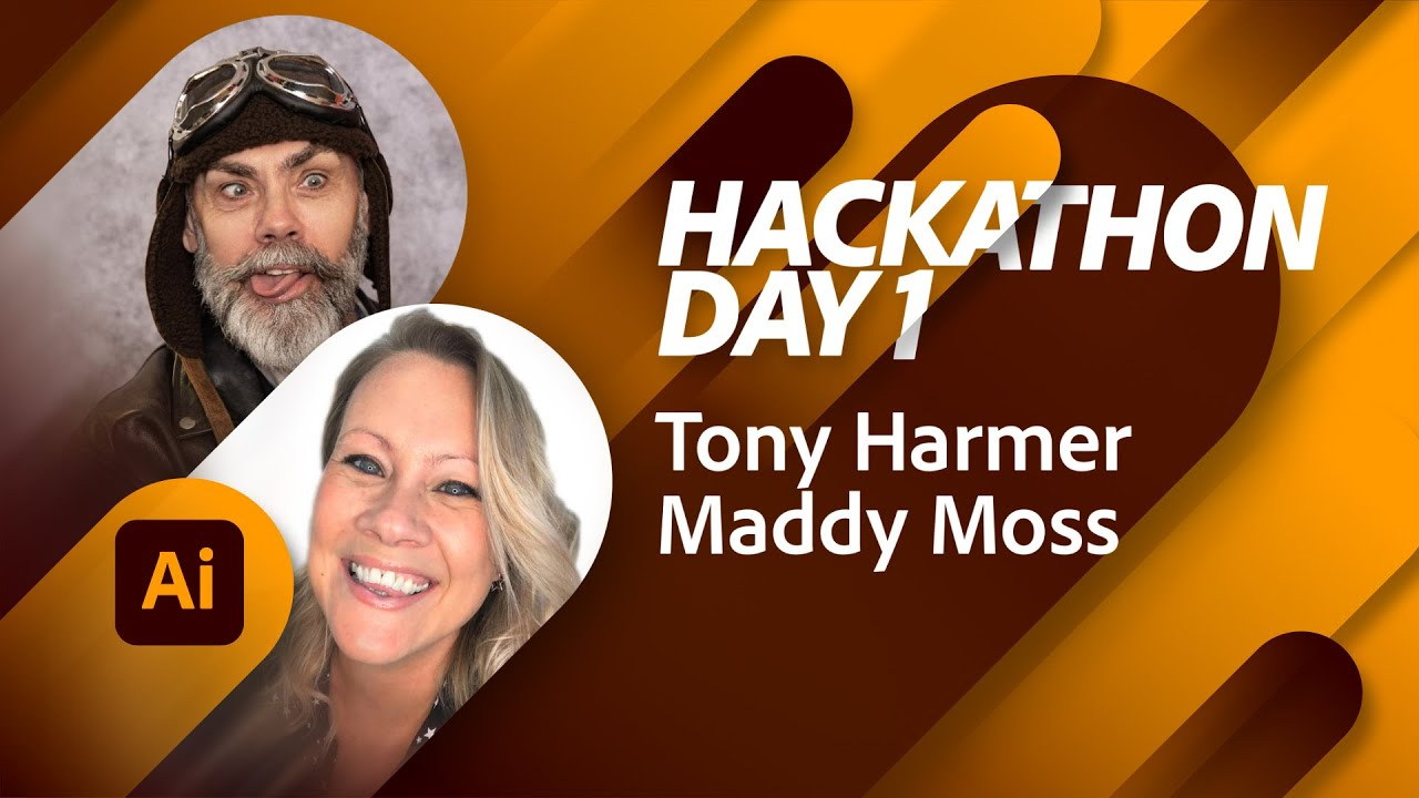 The Tony Harmer Hackathon Day 1: Getting Started on the iPad   Adobe Live