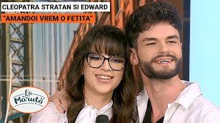 Cleopatra Stratan si Edward: