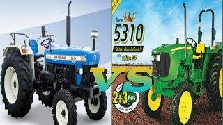 New Holland 3630 plus vs john deere 5310 comparison review
