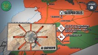 2 октября 2017. Военная обстановка в Сирии. САА отбила часть атак ИГИЛ. Захват ИГИЛ города Карьятейн