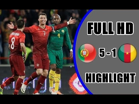 MATCH WORLDCUP 2018: Portugal vs Cameroon 5-1 All Goals and Extended Highlights