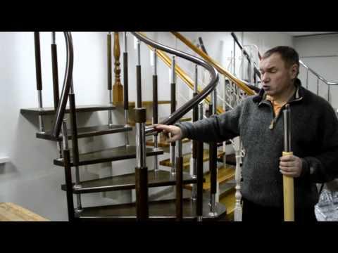 Комбинированные балясины для лестницы