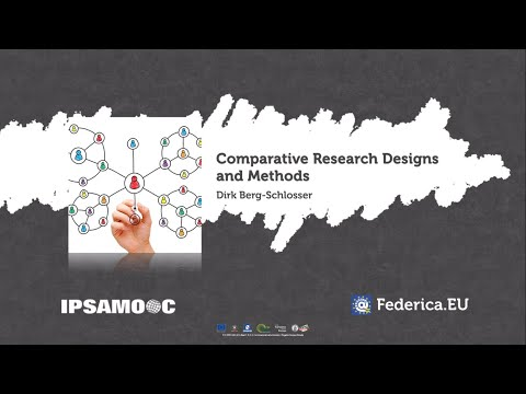 Comparative Research Designs and Methods - Dirk Berg Schlosser - FEDERICA MOOC