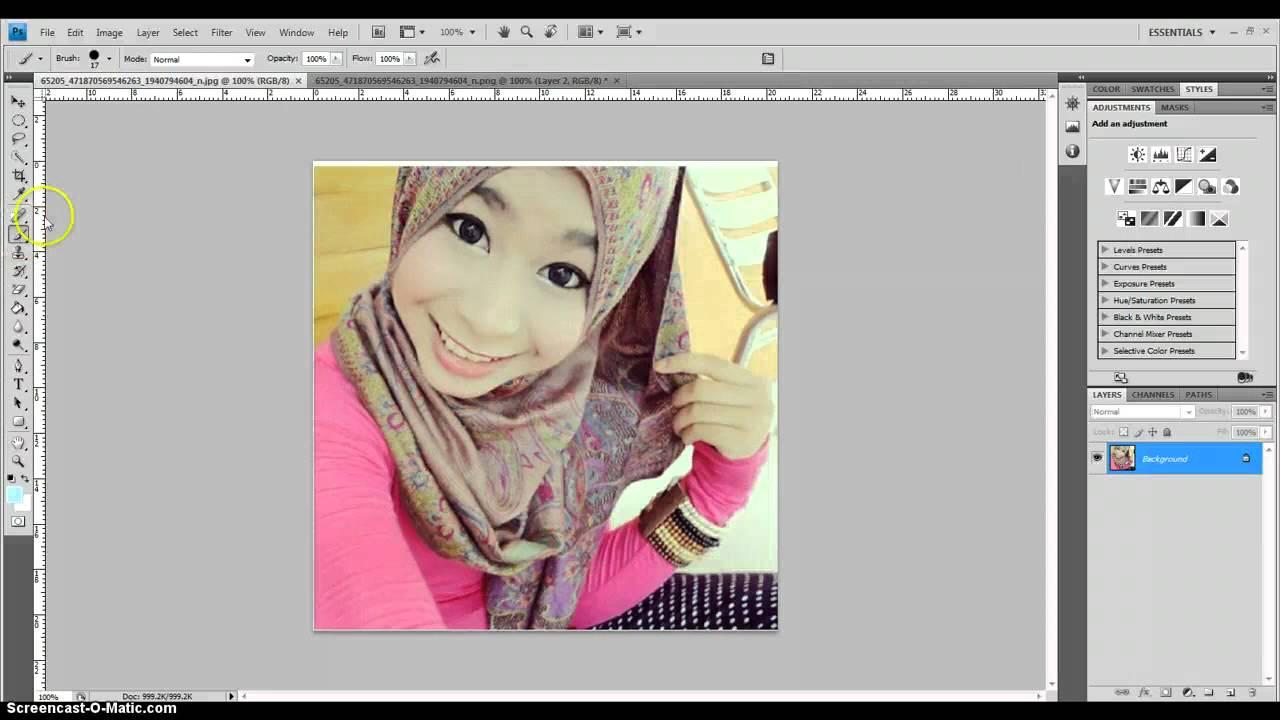 Cara Make Up Foto Di Photoshop | Gaestutorial