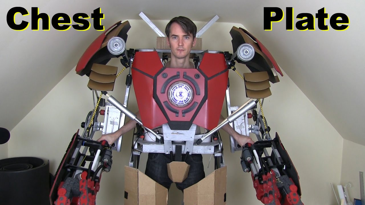 iron man hulkbuster cosplay 17 chest plate amp unibeam