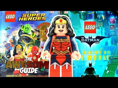 LEGO DC Comics Super Heroes Awesome Guide & The LEGO Batman Making of the Movie by DK Books