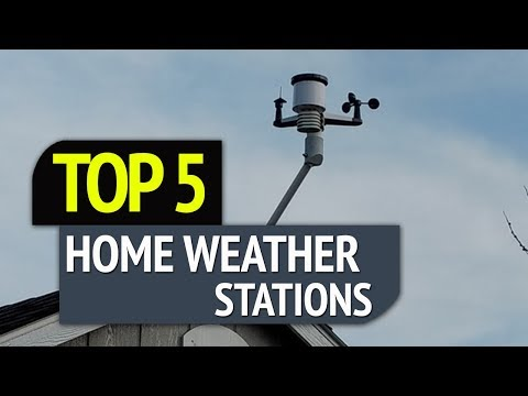 TOP 5: Best Home Weather Stations