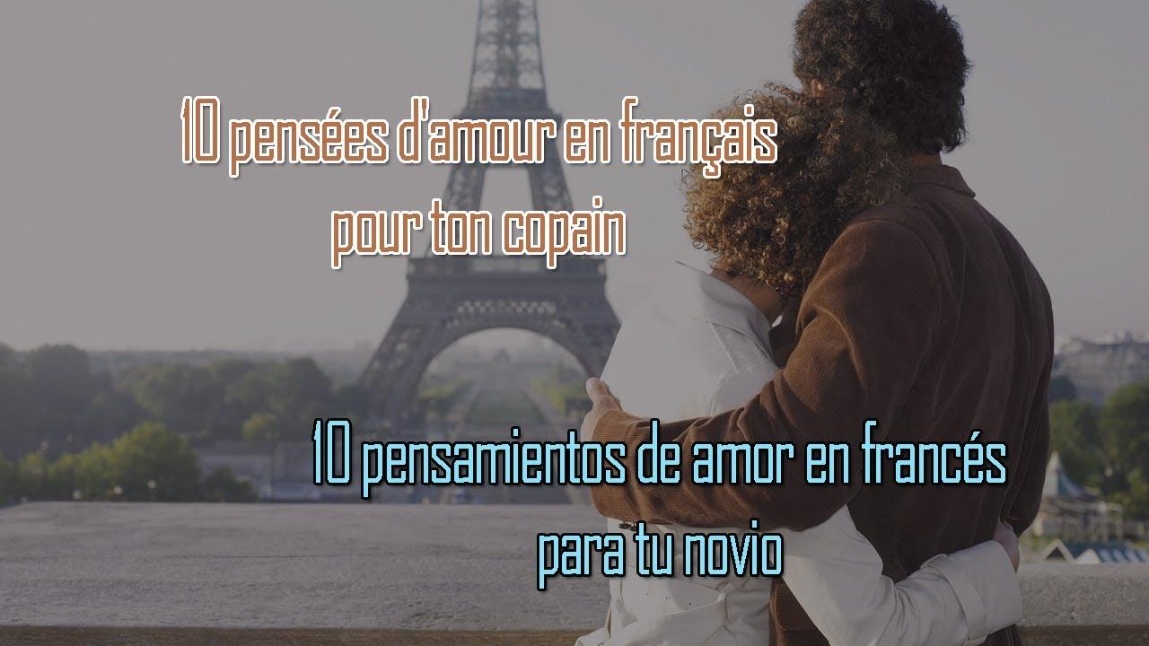 10 Frases De Amor En Francés Para Tu Novio