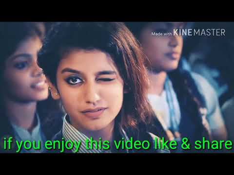 Priya prakash virrer video.. whatsapp status video