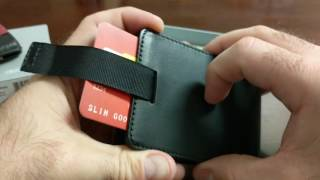 distil union wally bi fold wallet updated for 2016 unboxing first impressions