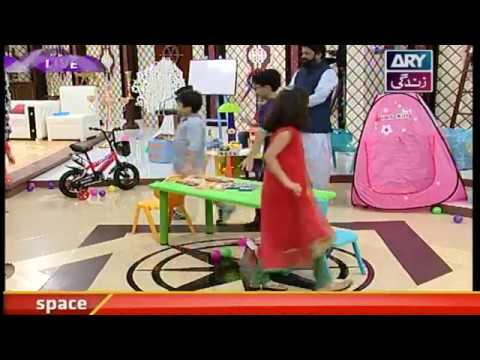 Musical Chairs Game segment in Salam Zindagi