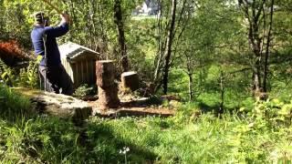 The Axe is Back Project - Wetterlings Splitting Maul