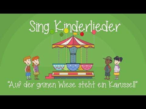 Auf der grünen Wiese steht ein Karussell - Kinderlieder zum Mitsingen | Sing Kinderlieder