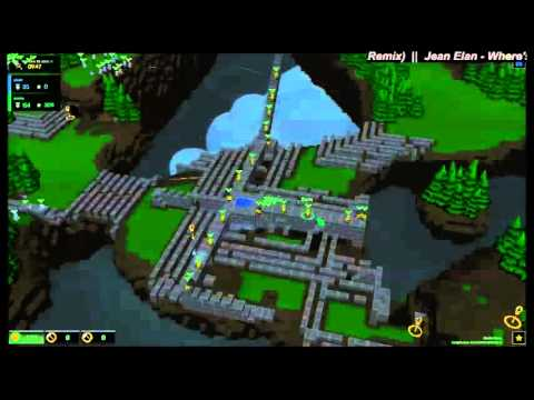 Castle Story – Survival Hardmode – 93 Wave Run Time lapse